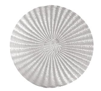 Runde Pressmatte ohne Loch 40 cm
