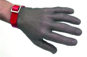 Schnittschutzhandschuh aus Edelstahl, Größe 10