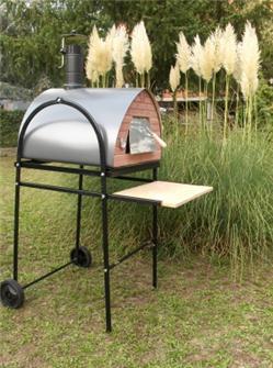 Rollgestell für Pizzaofen