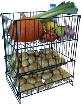 Kartoffel- und Gemüseregal 50 kg