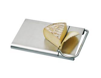 Edelstahl-Käseschneider mit Brett