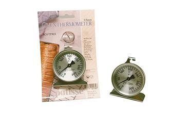 Ofenthermometer aus Edelstahl.