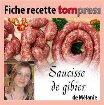 Rezept für Wildwurst von Mélanie