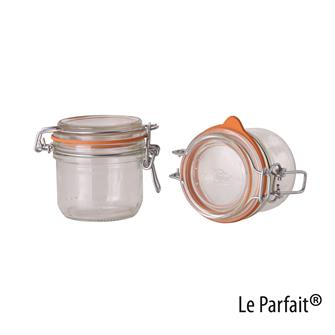 Le Parfait® Einmachgläschen, 200 Gramm, 6 Stück