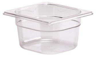 Gastrobehälter BPA-frei, GN 1/6, Höhe 10cm, aus Copolyester