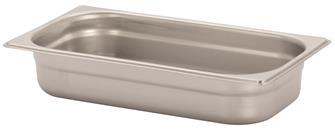 Gastronorm-Behälter Edelstahl, GN1/3, Höhe 6,5cm, EN631