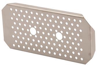 Edelstahl-Einlegeboden für Gastrobehälter GN1/3, EN631