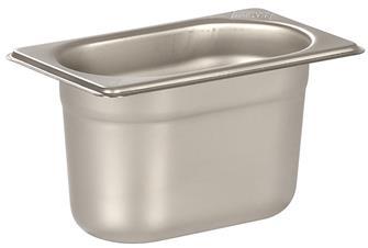 Gastronorm-Behälter Edelstahl, GN1/9, Höhe 10cm, EN631