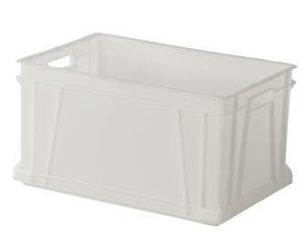 Kiste für Lebensmittel, stapelbar, 60 Liter