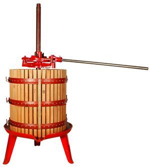 Spindelpresse mit Ratsche 327 Liter