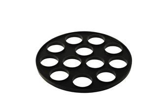 Silikon-Pfanneneinsatz für 12 Blinis, für Pfanne 26cm