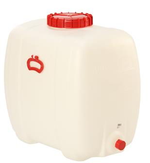Rechteckiger Lebensmittelbehälter mit einem Fassungsvermögen von 150 Litern.