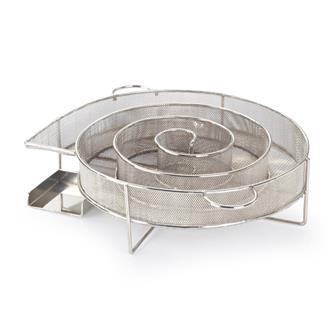 Zubehör für die Kalträucherung im Räucherofen aus beschichtetem Stahl