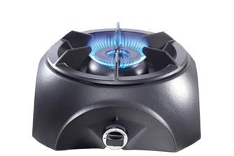 Gasbrenner aus Gusseisen, zweiflammiger Brennring, für große Größen