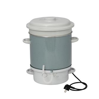 Elektro-Dampf-Entsafter, emailliert