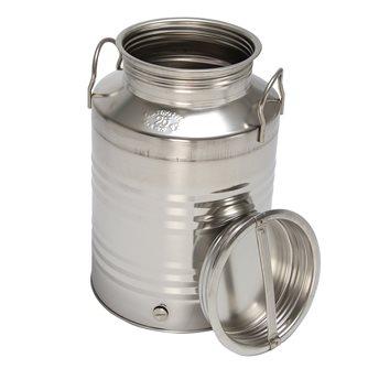 Edelstahlkanister für Öl, 25 Liter
