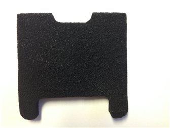 Kohlefilter für Friteuse, doppelter Filter