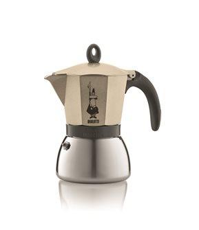 Italienischer Espressokocher, Induktion, 3 Tassen