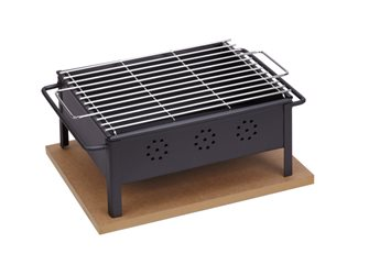 Barbecue Tischgrill 30x25 cm
