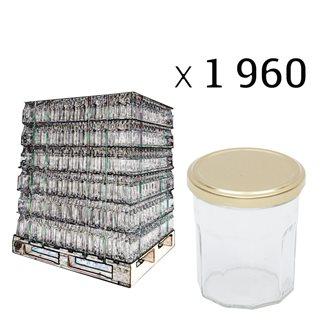 Palette Marmeladegläser 370 g 1960 Stück
