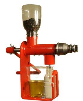 Ölpresse für ölhaltige Samen