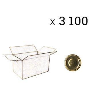 Verschlüsse mit 43 mm Durchmesser zu 3100 Stück
