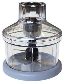 Bol cutter mini-hachoir 0,8 l pour mixeur plongeur Mini Pro et autres Dynamic de 220 W et 250 W