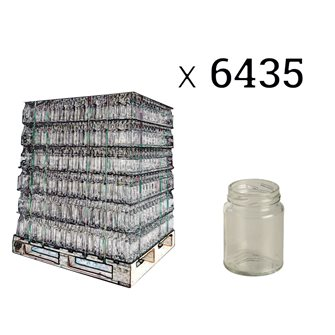 Gläser zylindrisch 106 ml, Palette mit 6435 Stück