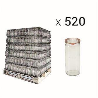 Weck Spargelglas 1 Liter Palette mit 520 Stück