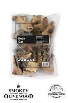 Steineichen-Chunks für Grill, 5 KG