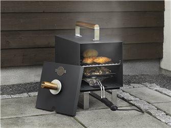 Fumoir de table électrique noir 1100 W