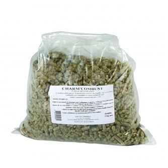 Brennmaterial aus Stroh, 2 kg